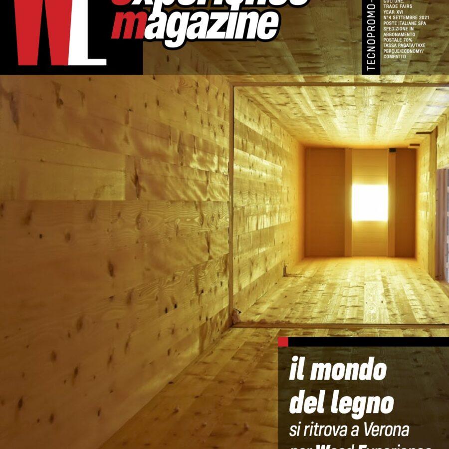 Scopri tutte le iniziative di Wood-Experience sul nuovo magazine WEM